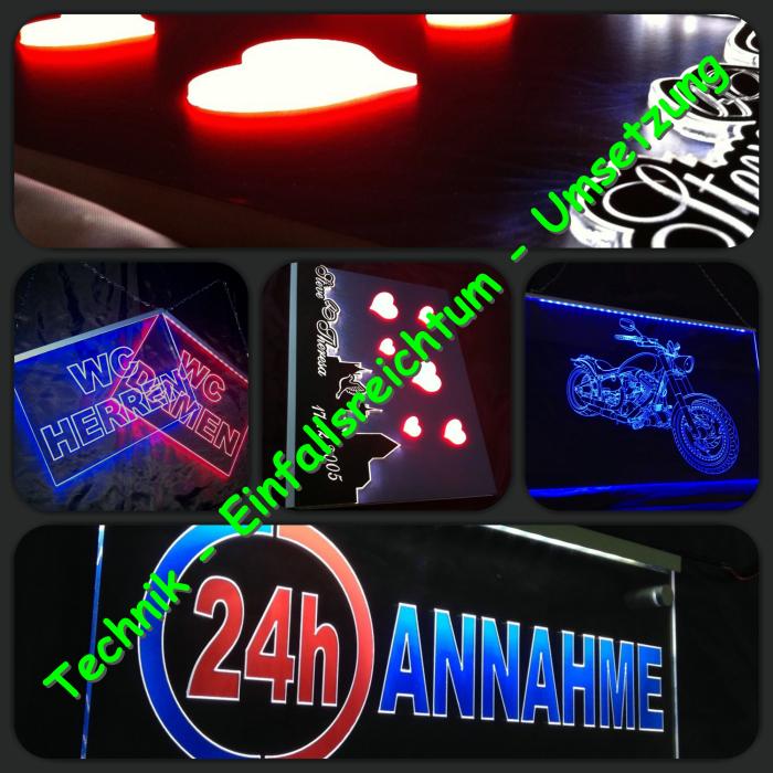 LED Werbeschilder von faunz.com - Steve Groß