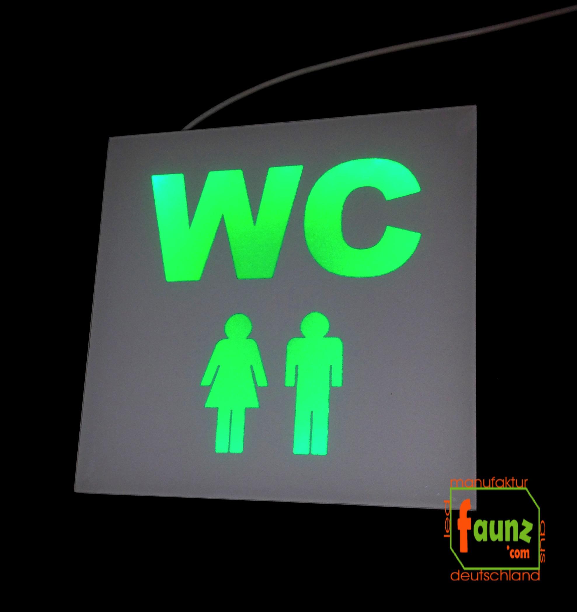 Piktogramm Beleuchtung | Steve Gross Faunz Com Onlineshop Led Manufaktur Aus Deutschland